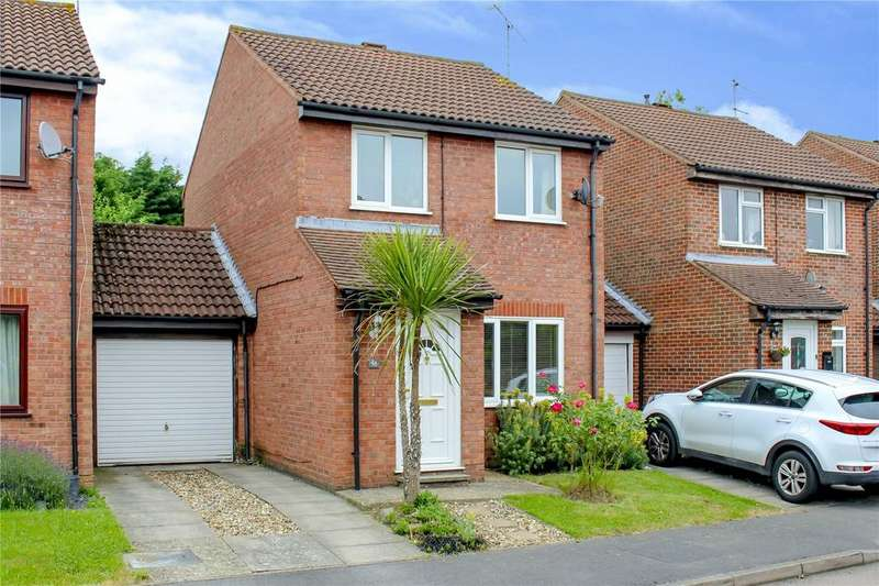 3 Bedrooms Link Detached House for sale in Cross Gates Close, Martins Heron, Bracknell, Berkshire, RG12