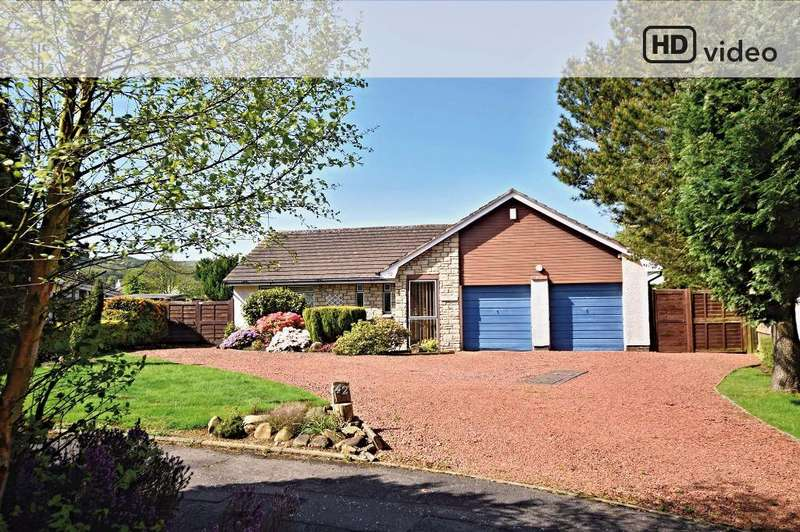 3 Bedrooms Detached Bungalow for sale in Glenalla Crescent, Ayr, South Ayrshire, KA7 4DA