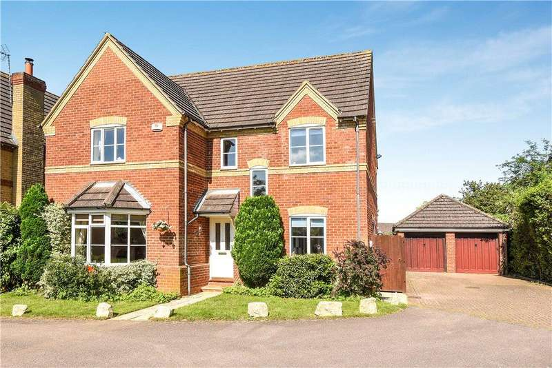 5 Bedrooms Detached House for sale in Ursula Taylor Walk, Clapham, Bedford, Bedfordshire