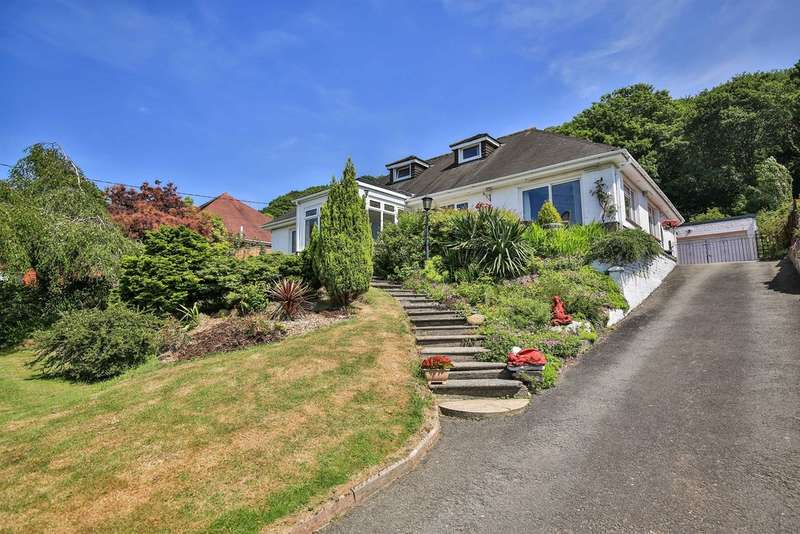4 Bedrooms Detached Bungalow for sale in Graigola Road, Glais, Swansea