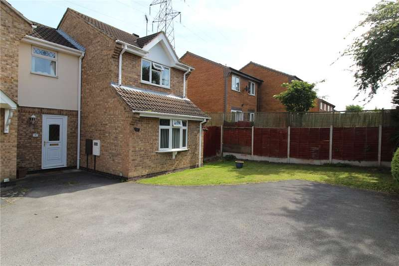 3 Bedrooms Semi Detached House for sale in Lindrick Close, Grantham, Lincs, NG31