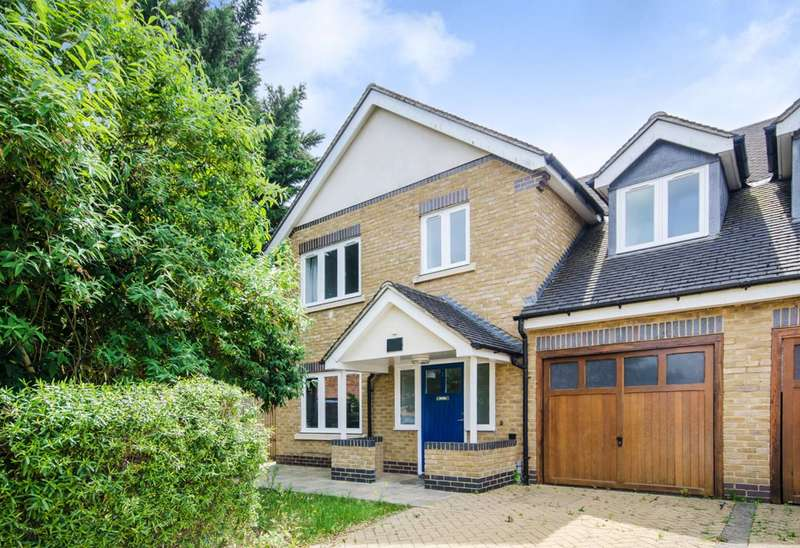4 Bedrooms Semi Detached House for sale in Robinsons Close, West Ealing, W13