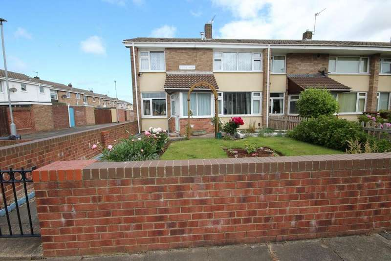 3 Bedrooms End Of Terrace House for sale in Doyle Walk, Rift House, Hartlepool