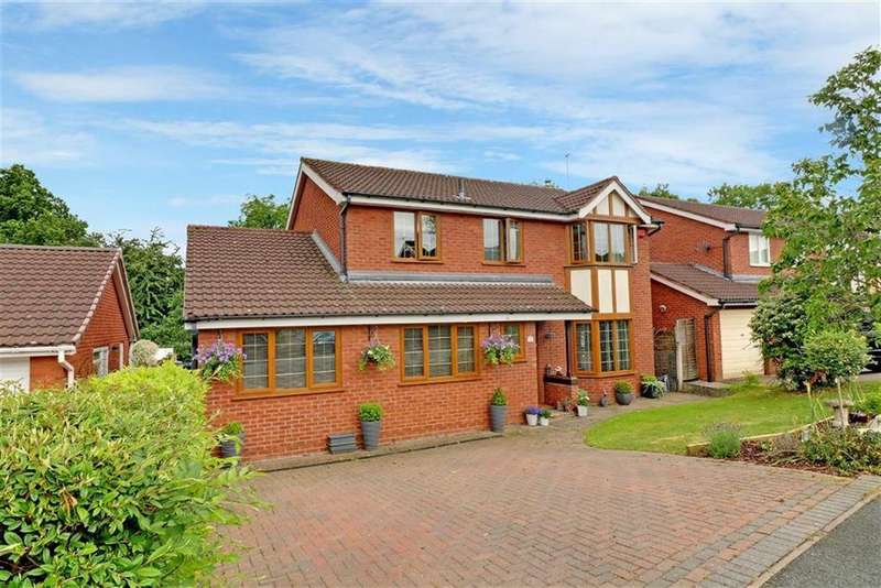 4 Bedrooms Detached House for sale in Shepherds Fold Drive, Winsford, Cheshire