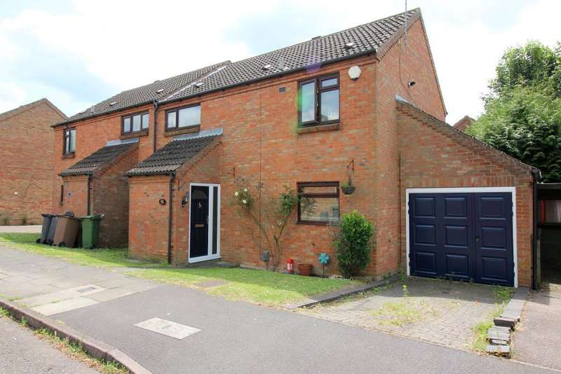 4 Bedrooms Semi Detached House for sale in Links Way, Luton, Bedfordshire, LU2 7HB