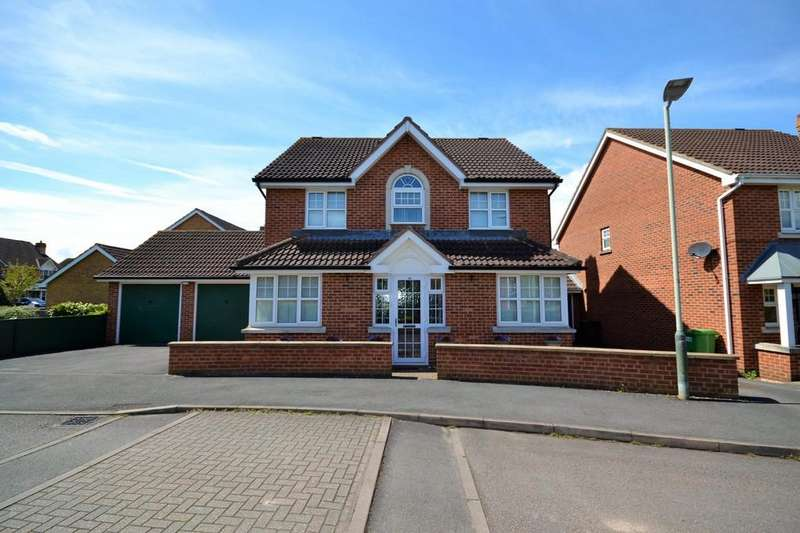4 Bedrooms Detached House for sale in Appleton Avenue, The Reddings