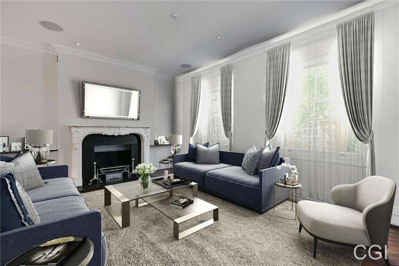 4 Bedrooms Terraced House for sale in Ansdell Terrace, London, W8