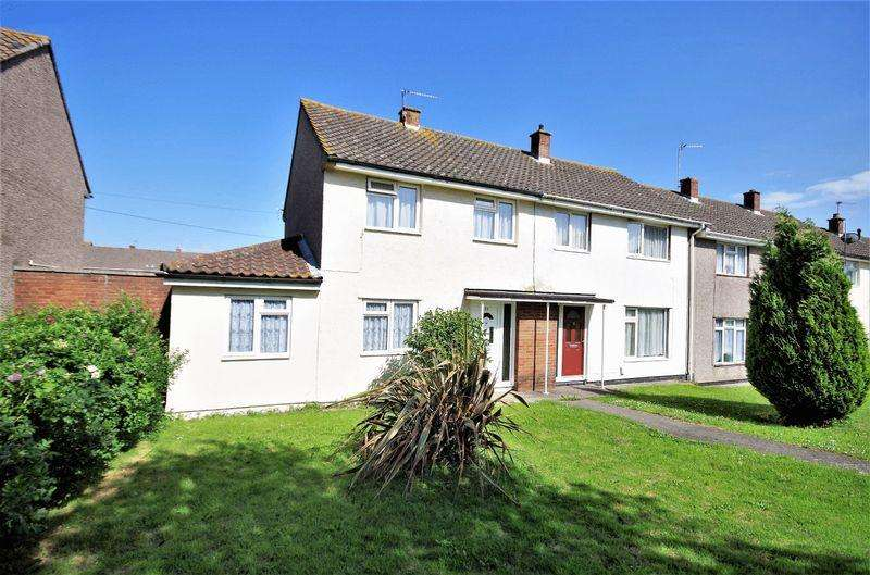 2 Bedrooms End Of Terrace House for sale in Arlingham Way, Patchway, Bristol