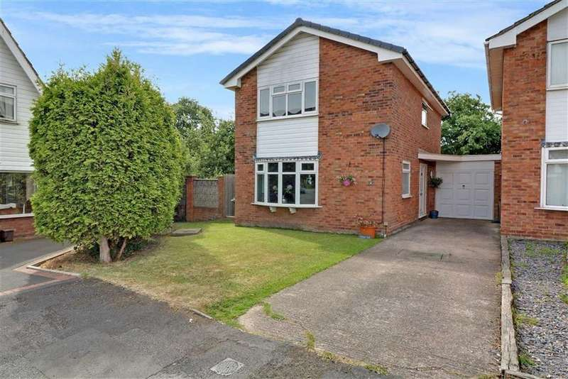 3 Bedrooms Link Detached House for sale in Chirk Place, Winsford, Cheshire
