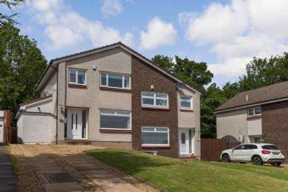 3 Bedrooms Semi Detached House for sale in Galston Court, Hamilton, South Lanarkshire