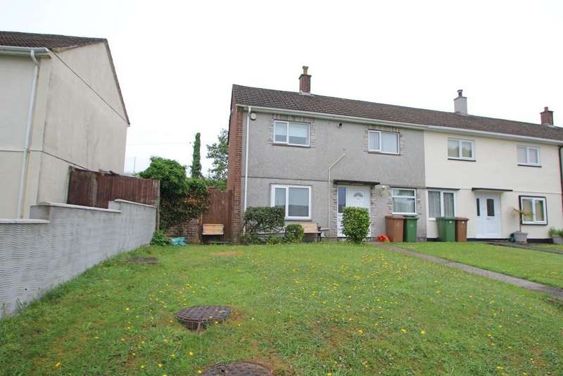 3 Bedrooms End Of Terrace House for sale in Clittaford Road, Plymouth