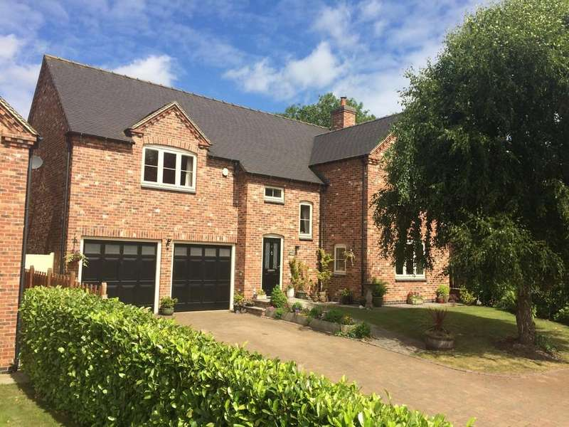 4 Bedrooms Detached House for sale in Saracens Court, Brailsford