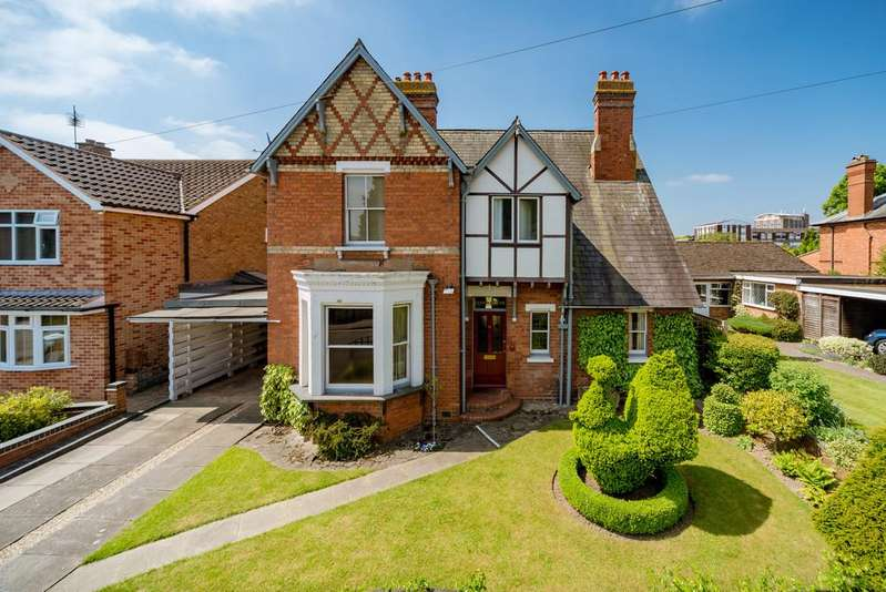 4 Bedrooms Detached House for sale in Southbank Road, Kenilworth