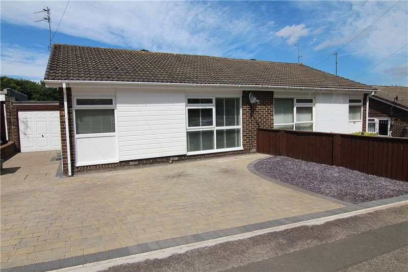 2 Bedrooms Semi Detached Bungalow for sale in Rothbury Road, Durham, Durham, DH1
