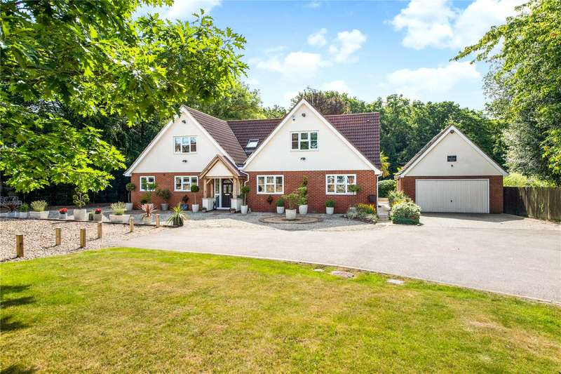5 Bedrooms Detached House for sale in Bucknalls Drive, Bricket Wood, St. Albans, Hertfordshire, AL2