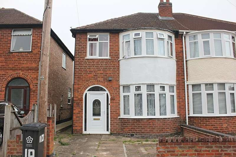 3 Bedrooms Semi Detached House for sale in Eastwood Road, Aylestone, Leicester