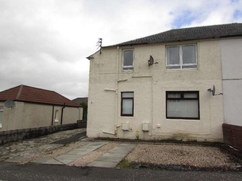 2 Bedrooms Flat for sale in Latta Crescent, Cumnock KA18