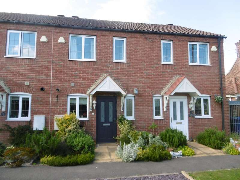 2 Bedrooms Terraced House for sale in Hawthorne Close, Glentworth, Gainsborough, DN21 5ED