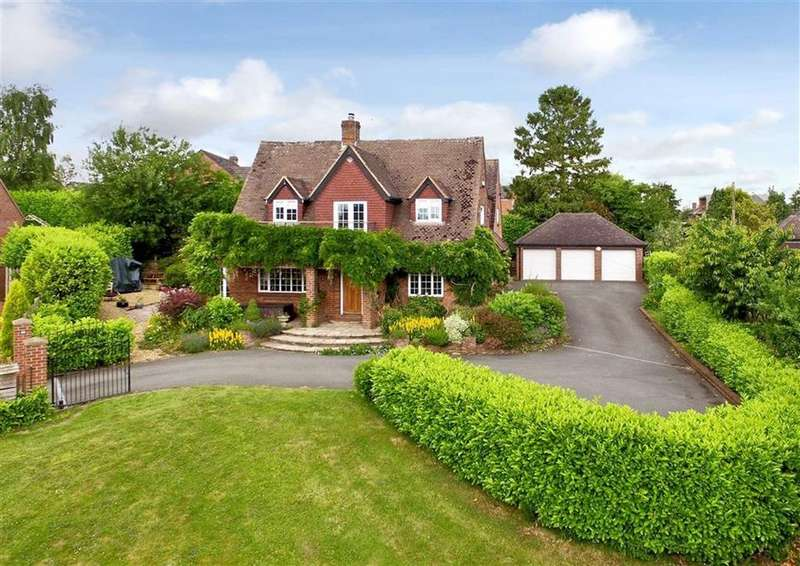4 Bedrooms Detached House for sale in Highfields, 44, Ludlow Road, High Town, Bridgnorth, Shropshire, WV16