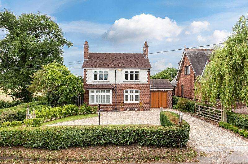 4 Bedrooms Detached House for sale in Newcastle Road, Smallwood