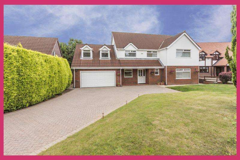 5 Bedrooms Detached House for sale in Bala Drive, Rogerstone, 3D VIRTUAL SCAN https://bit.ly/2JRPGKk - REF # 00004617