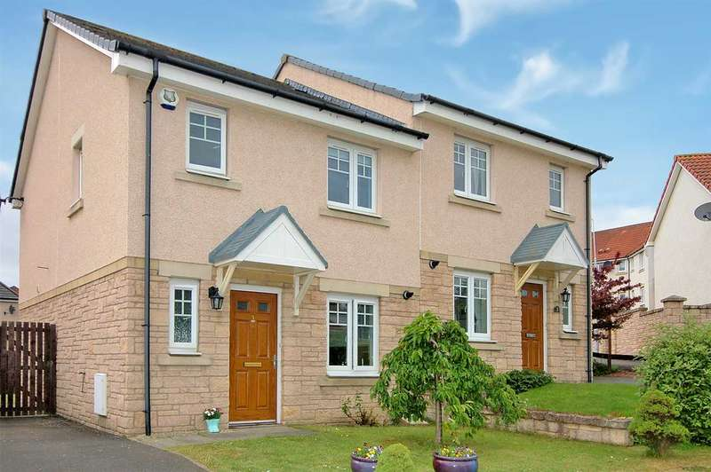 3 Bedrooms Semi-detached Villa House for sale in Middlebank Crescent, Dunfermline