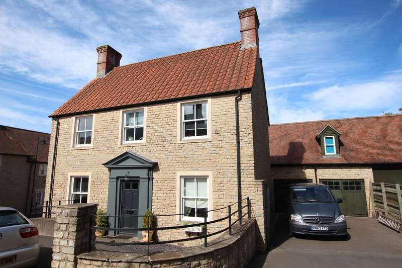 4 Bedrooms Detached House for sale in Greenfield Walk, Midsomer Norton, Radstock, BA3