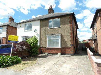 3 Bedrooms Semi Detached House for sale in Park Road, Loughborough, Leicestershire