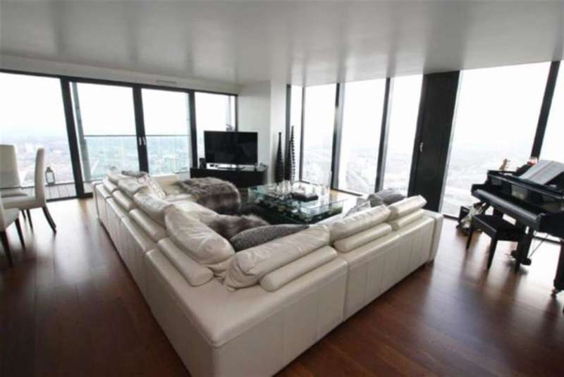 3 Bedrooms Apartment Flat for sale in Beetham Tower, 301 Deansgate, Manchester, M3 4LX