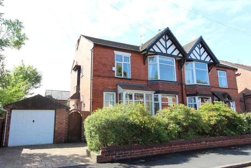 4 Bedrooms Semi Detached House for sale in Lawton Road, Heaton Chapel