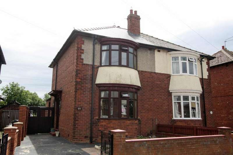 2 Bedrooms Semi Detached House for sale in Starmer Crescent, Darlington