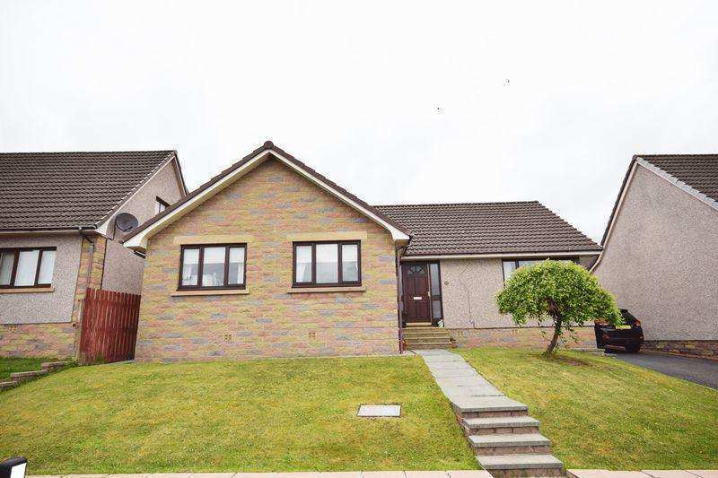 3 Bedrooms Detached Bungalow for sale in 5 Robbiesland Drive, Cumnock KA18 1UD