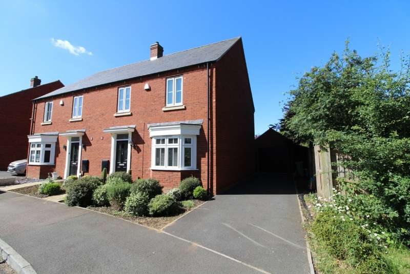 4 Bedrooms Semi Detached House for sale in Pearmain Close, Newport Pagnell, Buckinghamshire