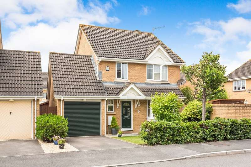4 Bedrooms Detached House for sale in Lambourne Way, Portishead, Bristol, BS20