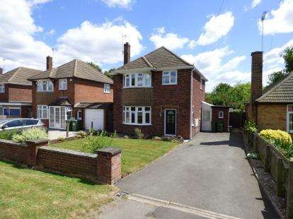 3 Bedrooms Detached House for sale in Broughton Road, Croft, Leicester, Leicestershire