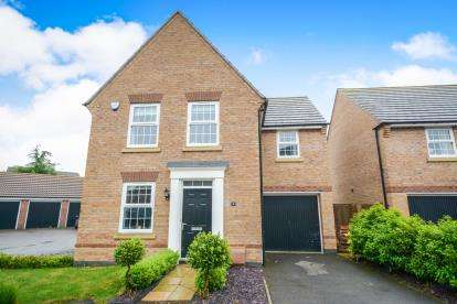 3 Bedrooms Detached House for sale in Titus Way, North Hykeham, Lincoln, Lincolnshire