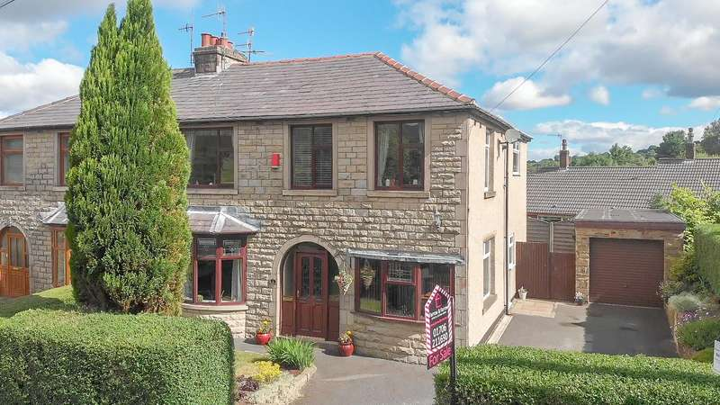 4 Bedrooms Semi Detached House for sale in Mount Avenue, Waterfoot, Rossendale