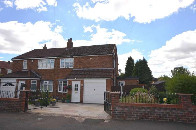 3 Bedrooms Semi Detached House for sale in Fawborough Road, Northern Moor, Manchester M23