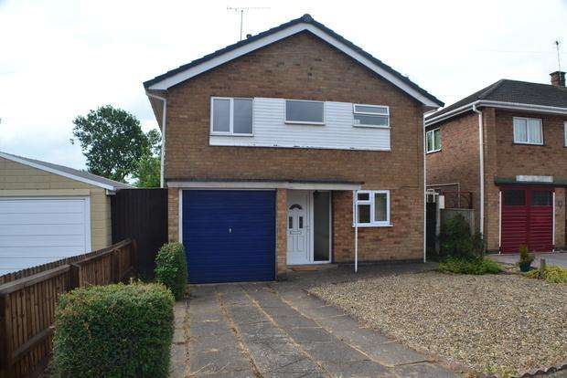 3 Bedrooms Detached House for sale in Homestead Drive, Little Hill, Wigston, LE18