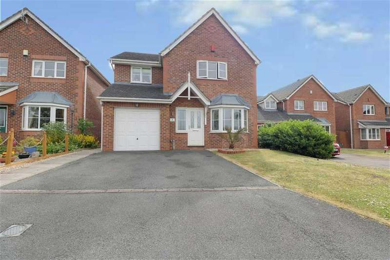 4 Bedrooms Detached House for sale in Allman Close, Crewe