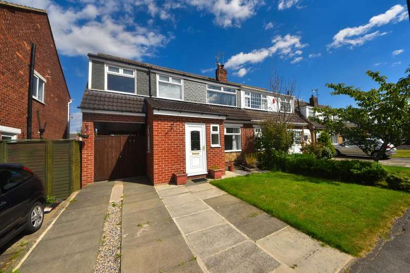 4 Bedrooms Semi Detached House for sale in Westgarth Close, Marske TS11