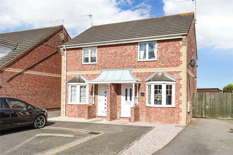 2 Bedrooms Semi Detached House for sale in Taylor Close, Fishtoft, PE21
