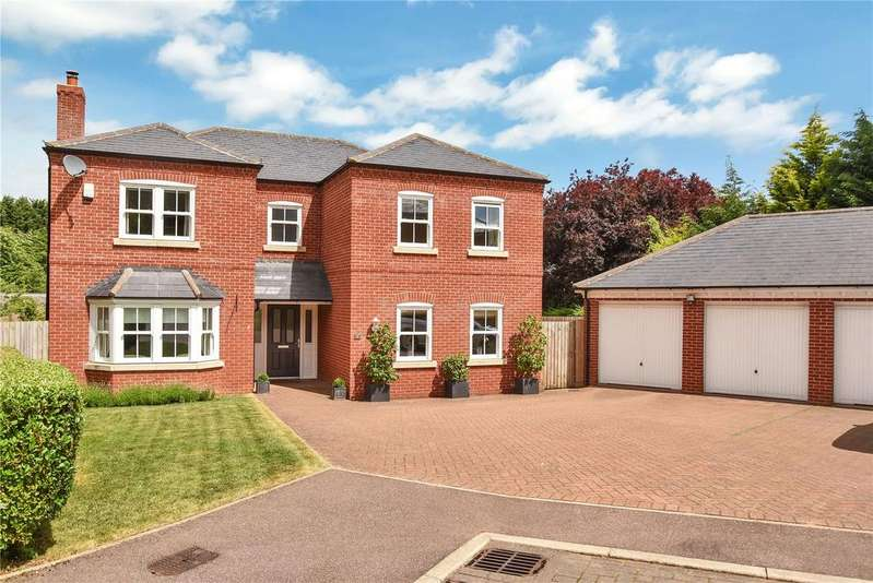5 Bedrooms Detached House for sale in Wallis Close, Melton Mowbray, Leicestershire