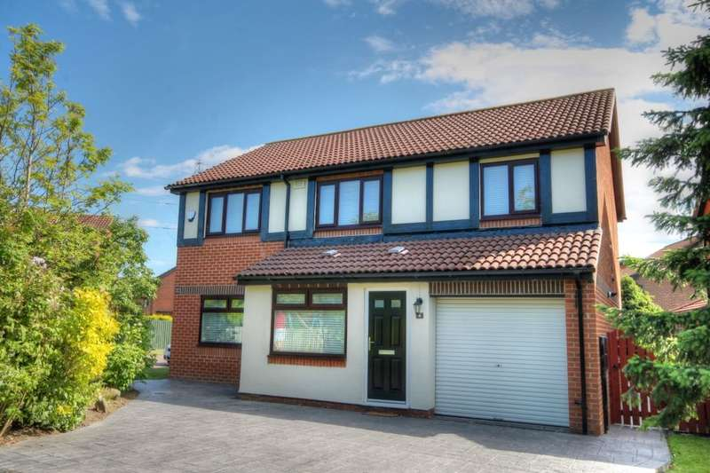 4 Bedrooms Detached House for sale in Canonsfield Close, Abbey Farm, Newcastle Upon Tyne, NE15