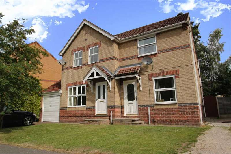 2 Bedrooms Semi Detached House for sale in Ash Close, Lincoln