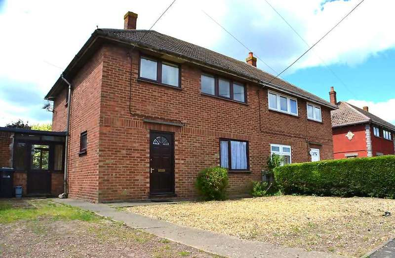 3 Bedrooms Semi Detached House for sale in Churchfield Road, Outwell, Wisbech