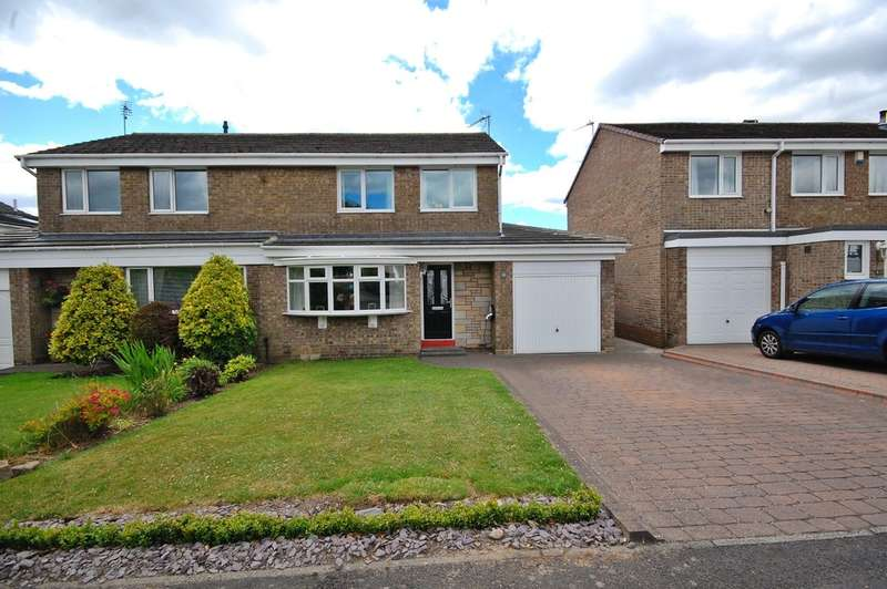 3 Bedrooms Semi Detached House for sale in Halton Road, Newton Hall, Durham