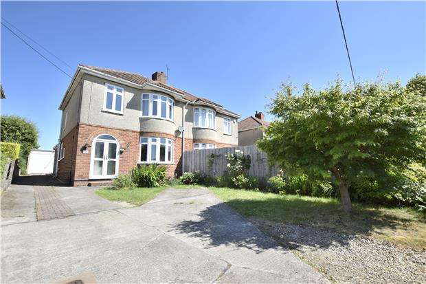 3 Bedrooms Semi Detached House for sale in Mount Hill Road, Hanham, BS15 8QR