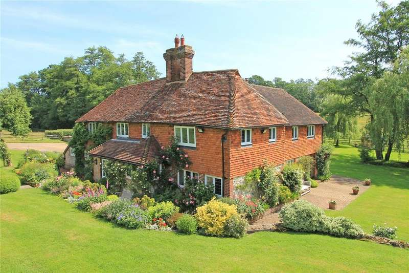 5 Bedrooms Detached House for sale in Toys Hill Road, Toys Hill, Westerham, Kent, TN8