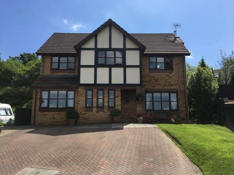 4 Bedrooms Detached House for sale in Glenview Rise, Pentwynmawr
